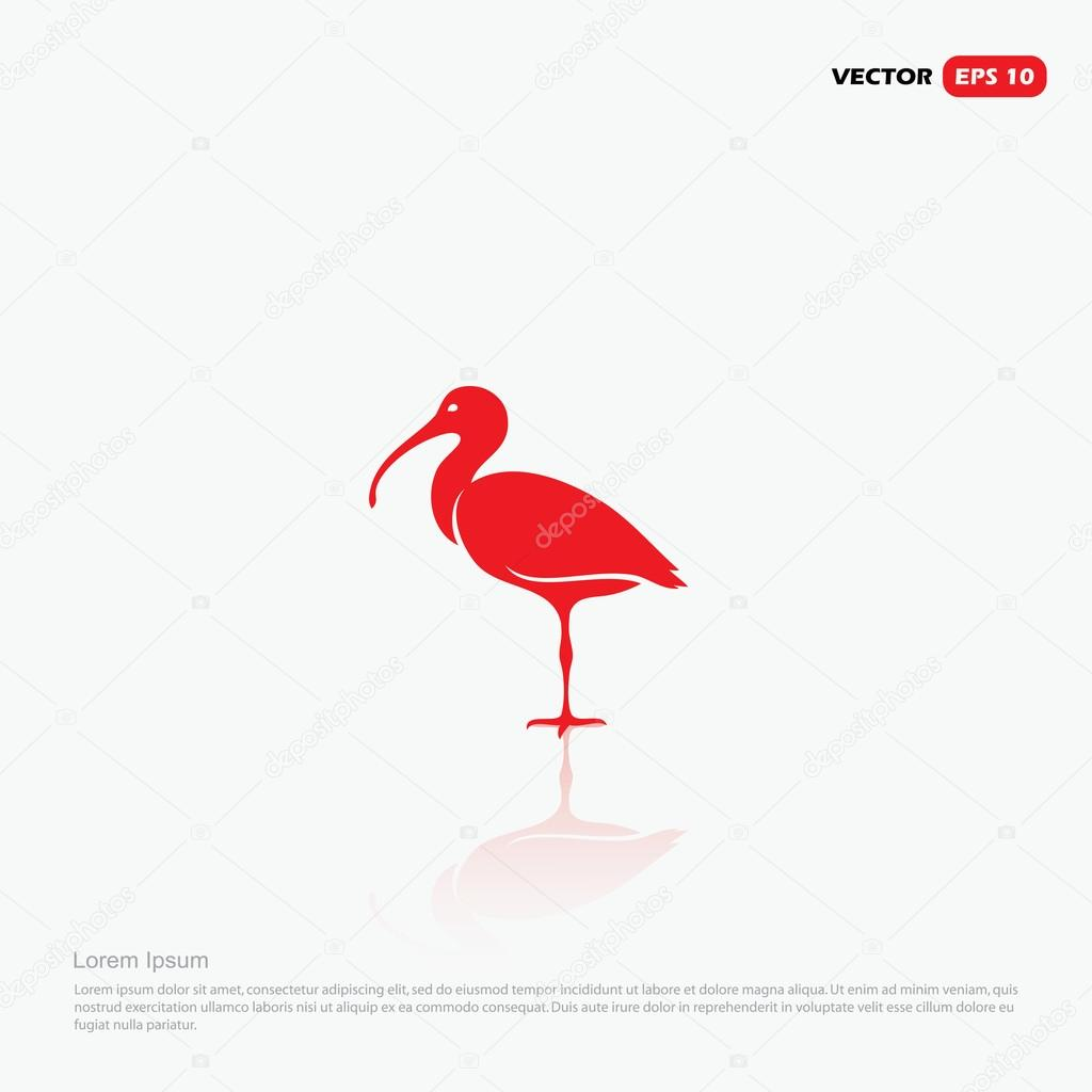 Ibis bird stock vectors royalty free ibis bird illustrations ibis logo concept royalty free stock illustrations buycottarizona Choice Image