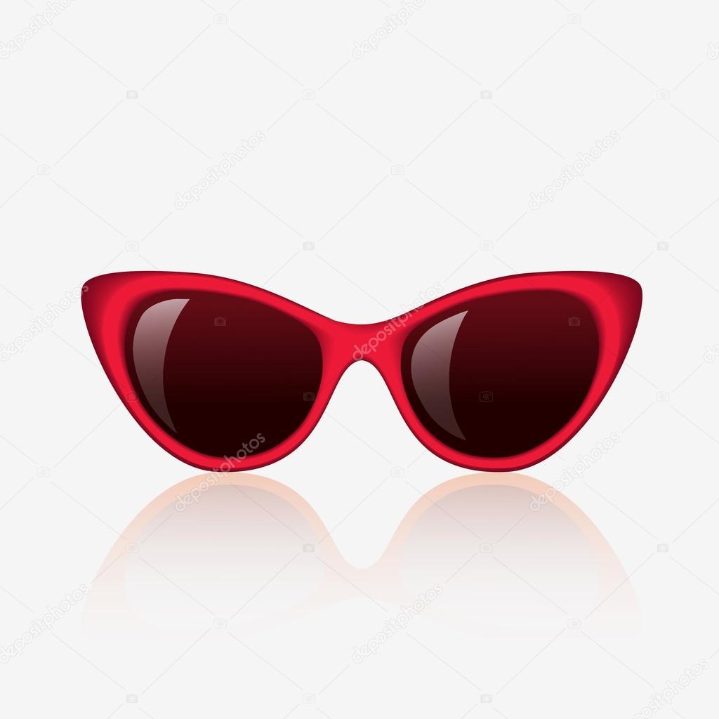 — © De Mujer I petrovic120087256 Rojo Sol Para Vector Stock Gafas 8n0wPkXZNO