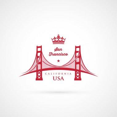 Golden Gate bridge symbol