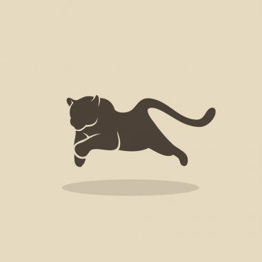 Running panther design
