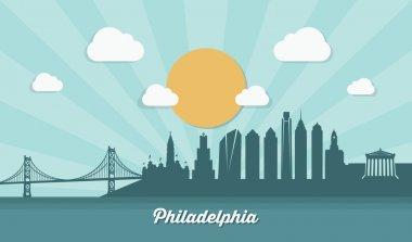 Philadelphia  city skyline