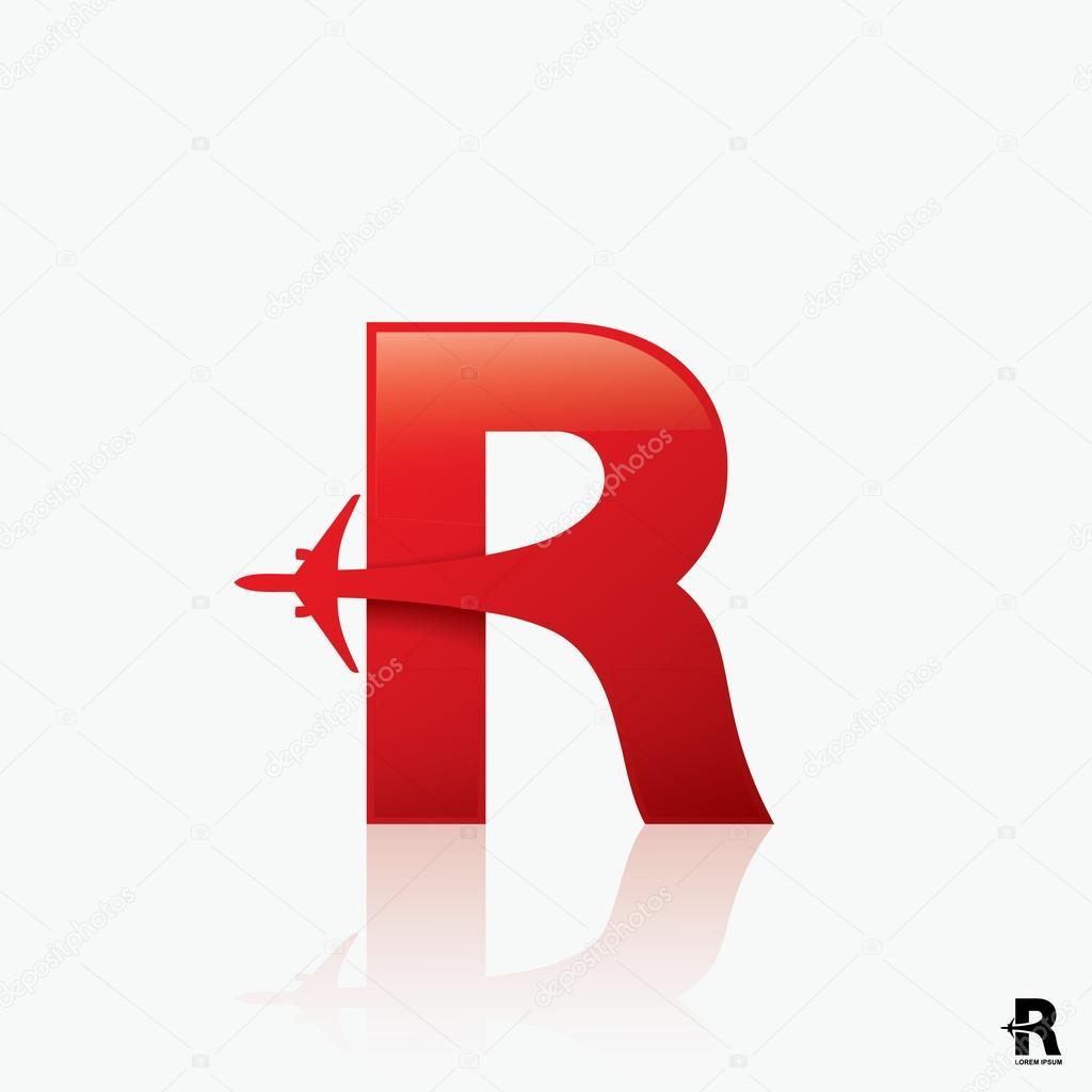 Plane Logo Design Stock Vectors Royalty Free Plane Logo Design