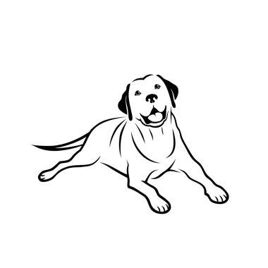 Labrador retriever sign