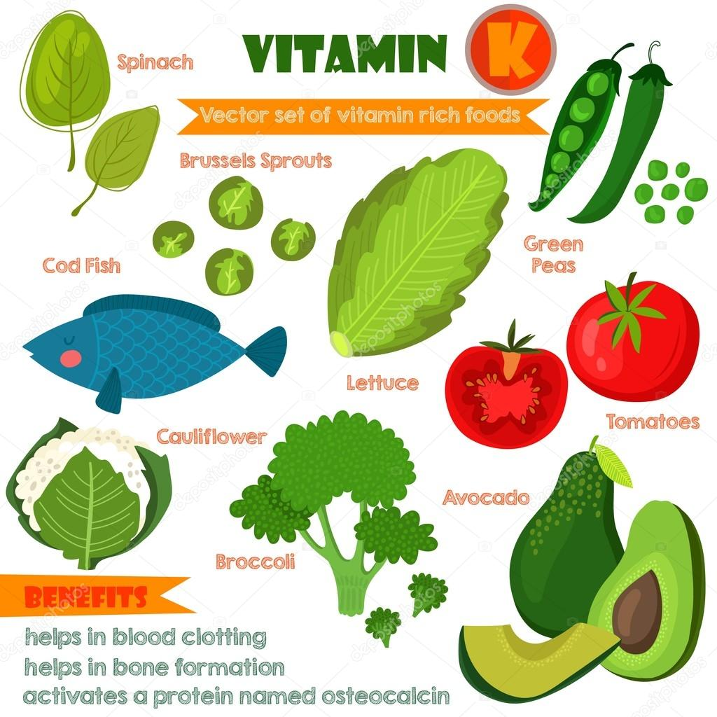 Vitamins and Minerals foods Illustrator set 12.Vector set of vit