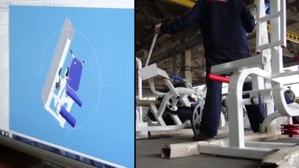 manufacture of gym equipment - multiscreen