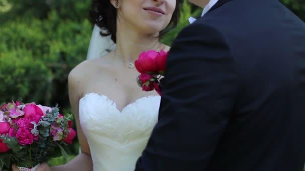 gyönyörű esküvői pár