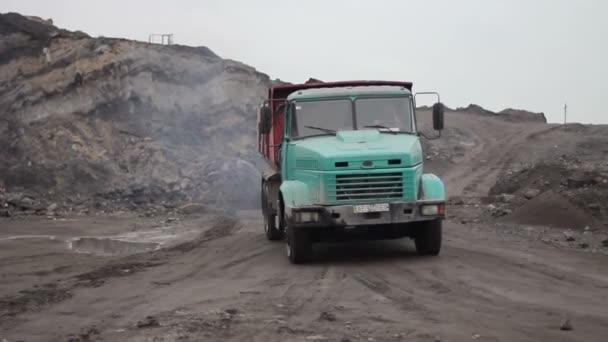 Důlní kariéru a průmyslové auto 02