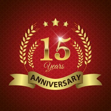 15 Years Anniversary Seal