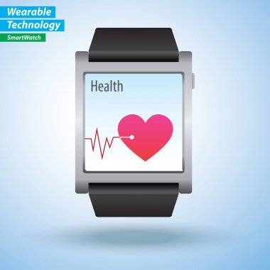 Heart beat monitor on SmartWatch