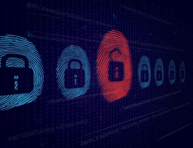 Cyber security and Hacking Concept