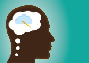 Thinking Head - A depiction of Idea