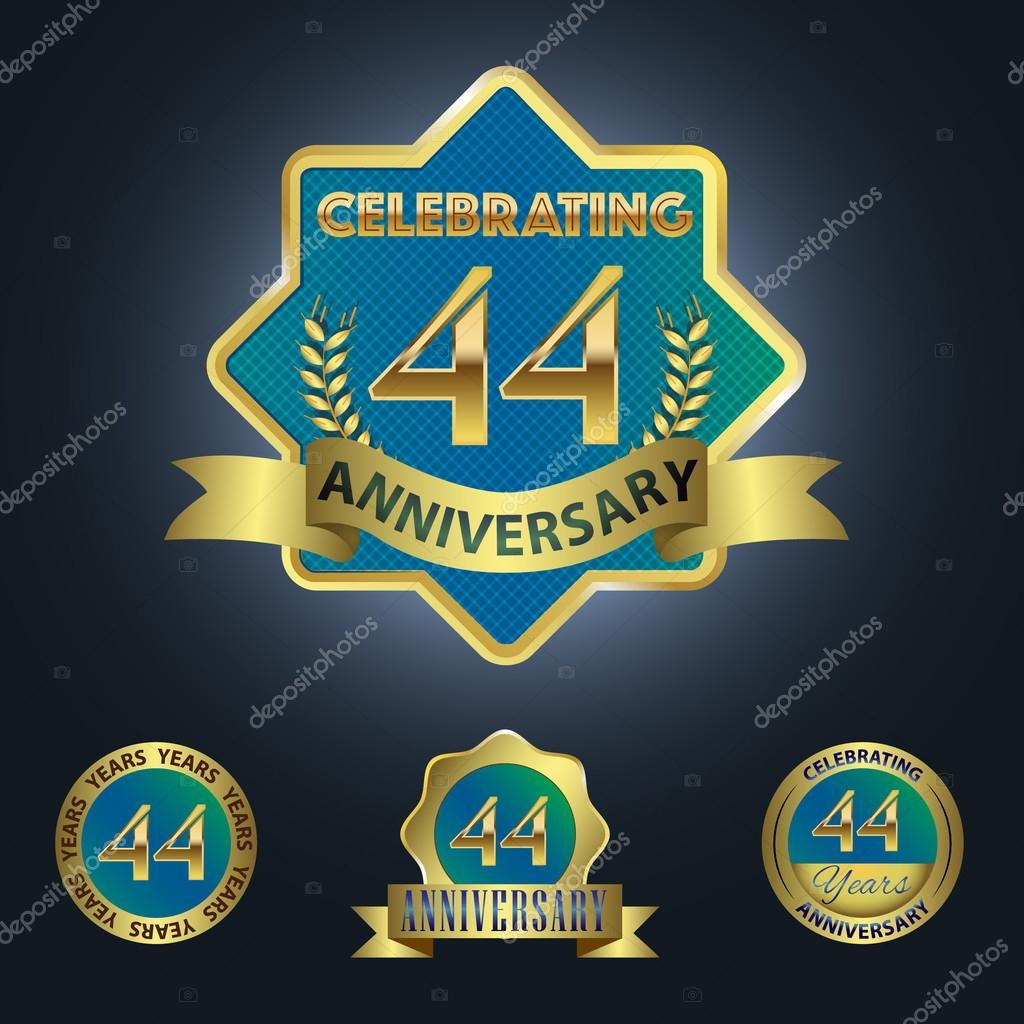 44th anniversary stock vectors royalty free 44th anniversary celebrating 44 years anniversary royalty free stock vectors biocorpaavc Gallery