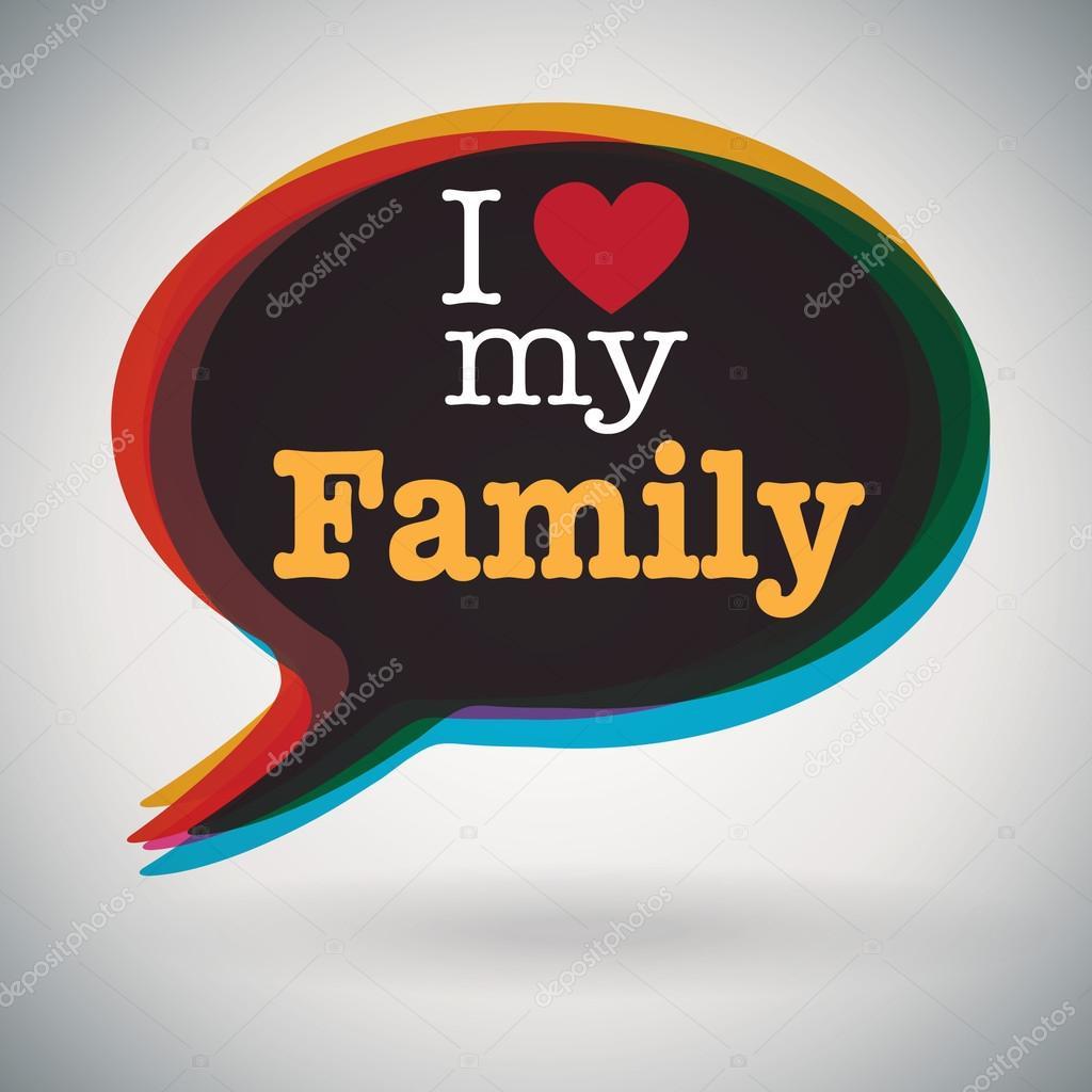 i love my family speech