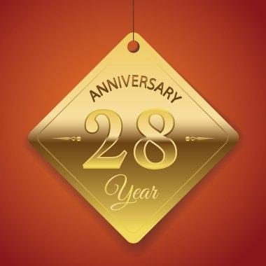 28 Years Anniversary poster