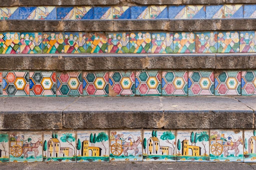 Scala di caltagirone u2014 foto stock © siculodoc #60833445