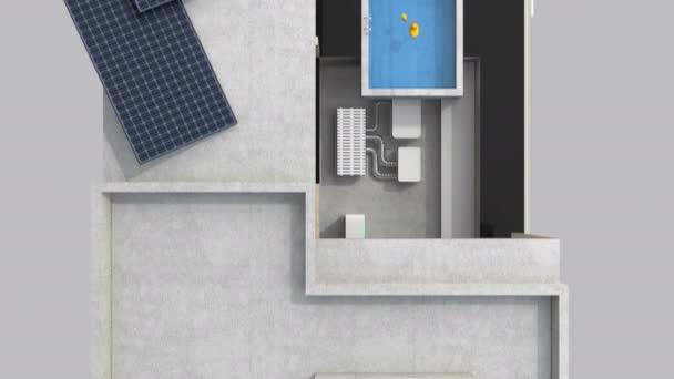 3dcg animáció okostelefon intelligens ház