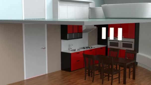 House appliances and furniture in  LED light bulb. Ecology life concept