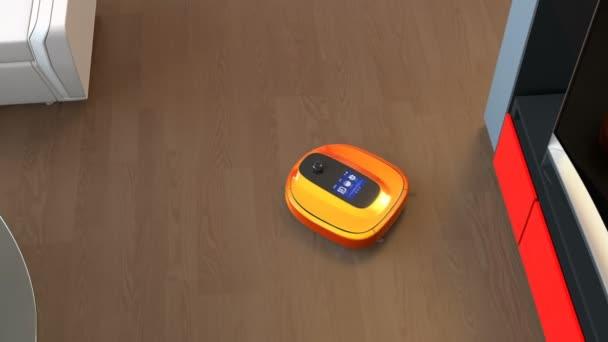 Robotický vysavač na čištění podlah