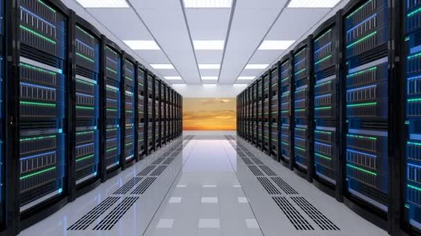 moderní serveru vnitřní