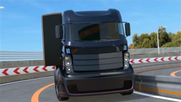 Vlastní řízení hybridní vůz na dálnici