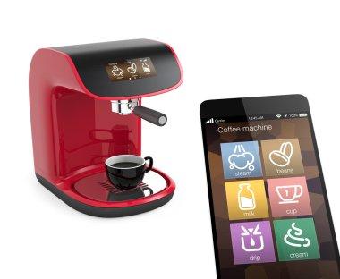 Smart phone apps for coffee machine. Original design