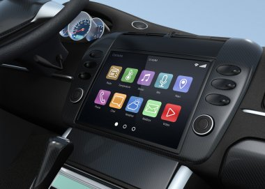 Smart multimedia system for automobile