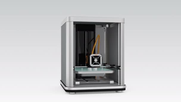 3D printer printing robot toy