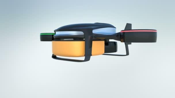 Ukázka hybridního systému hukot. Tento typ robota může zvednout v vertikálně a létání v horizontální