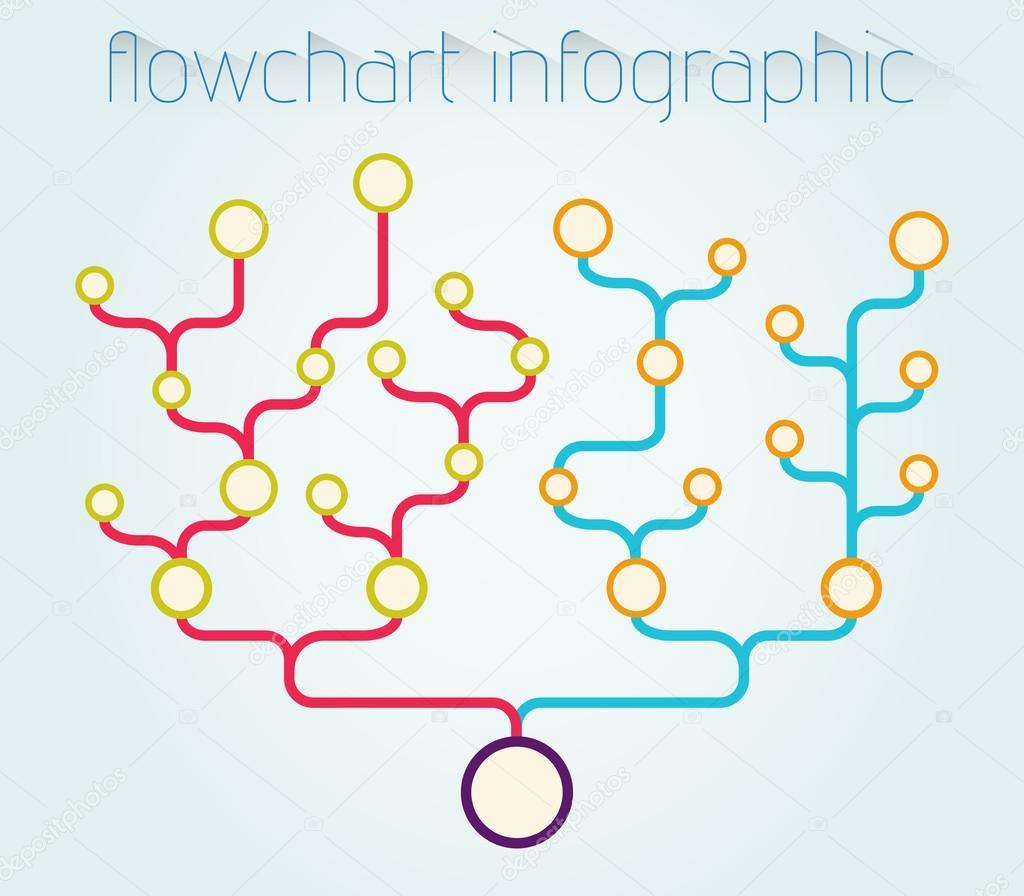 flowchart infographic template stock photo david dark0 65404437