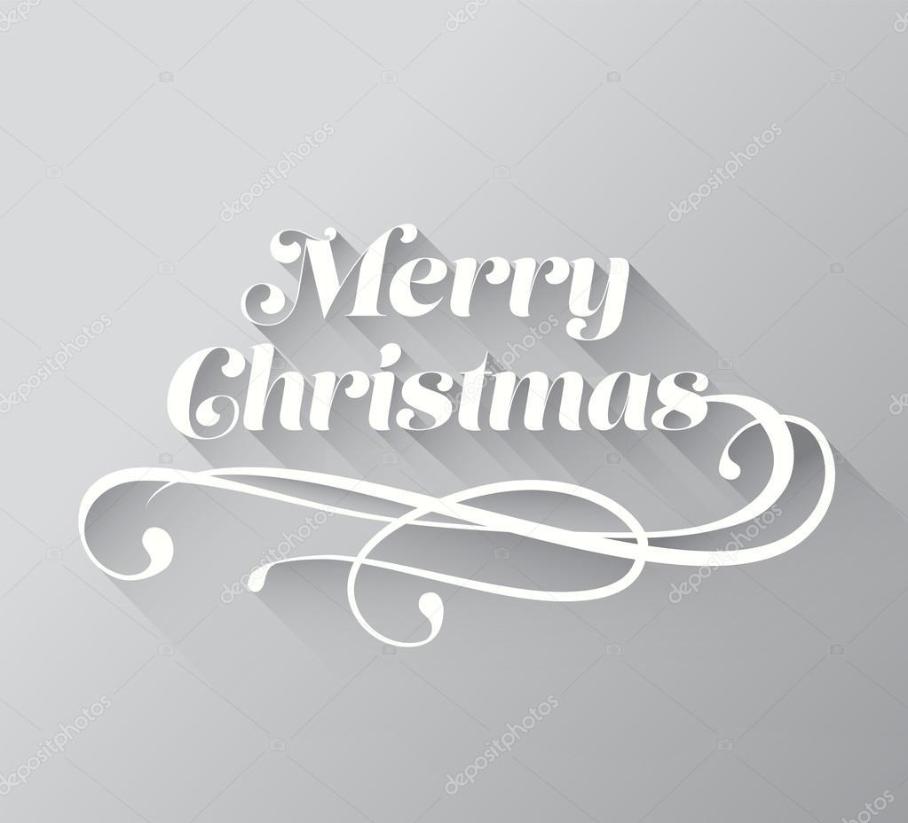 Merry En: Feliz Navidad In Cursive