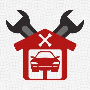 Garage icon design