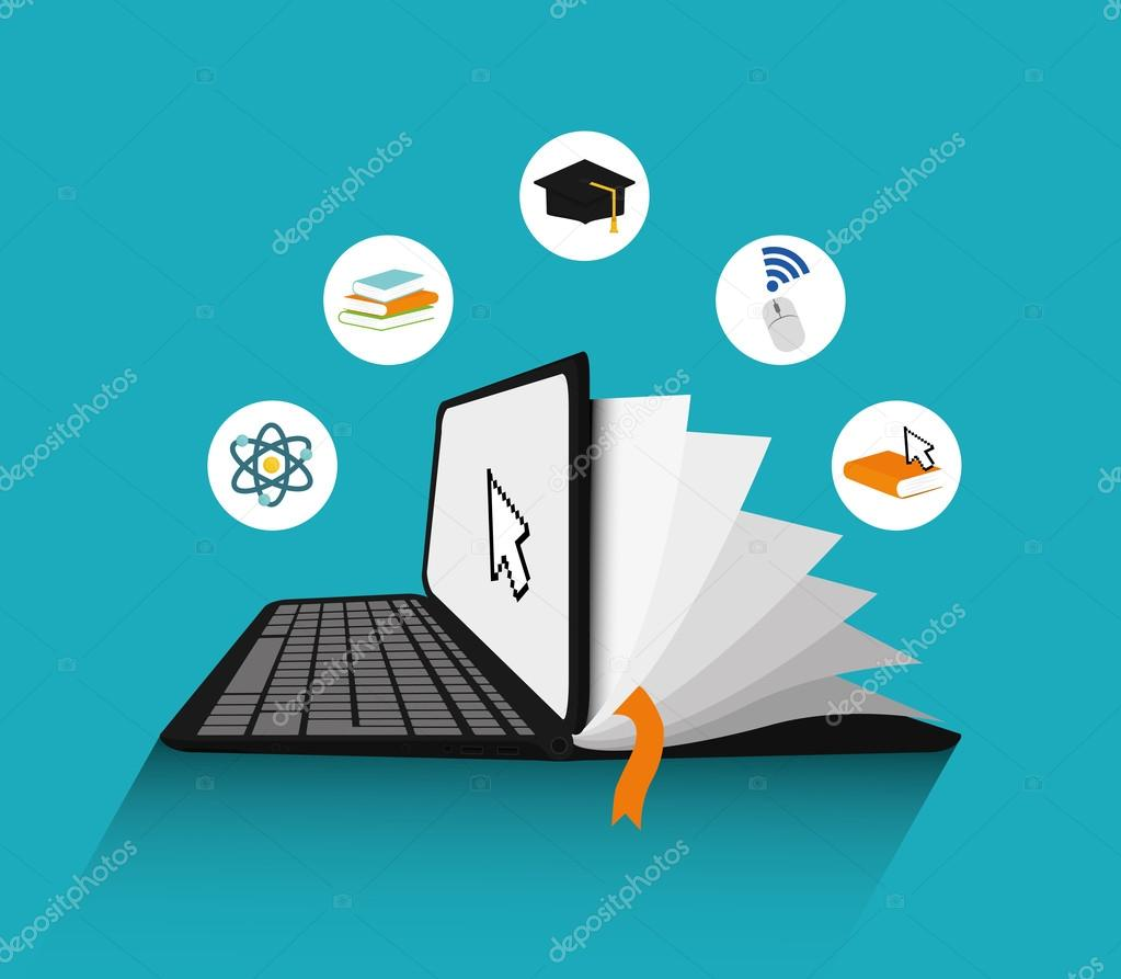 elearning icon design � stock vector 169 djv 103453012