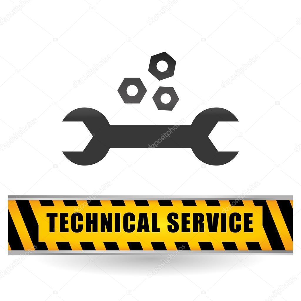 technical service and call center icon design, vector illustration