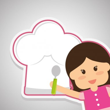 Menu Kids icon design, vector illustration