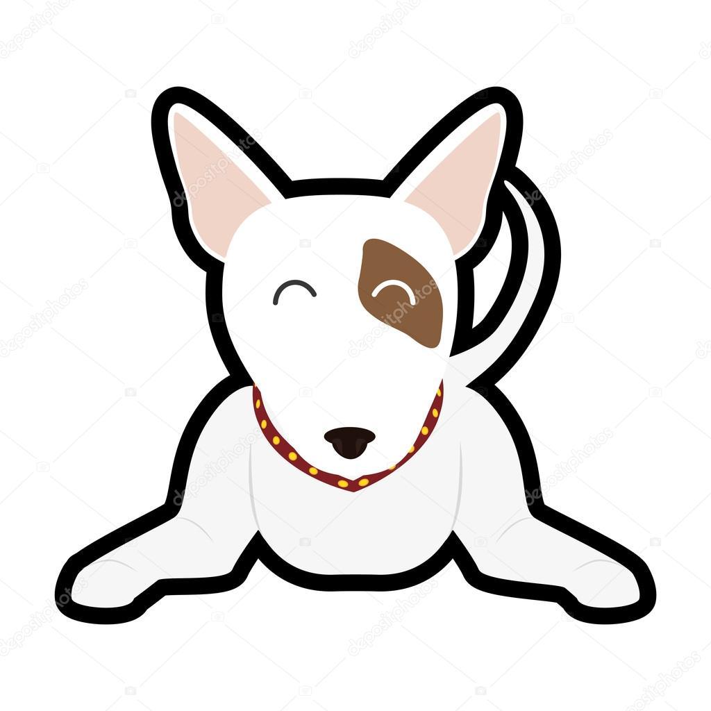 Amor De Mascotas Y Animales Icono De Dibujos Animados De Perro