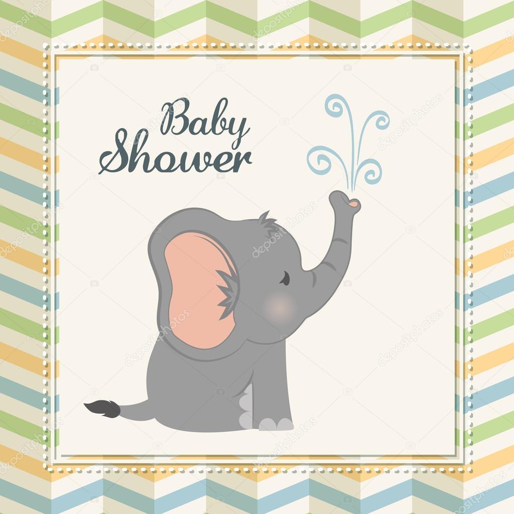 dibujos de bebe nina para baby shower