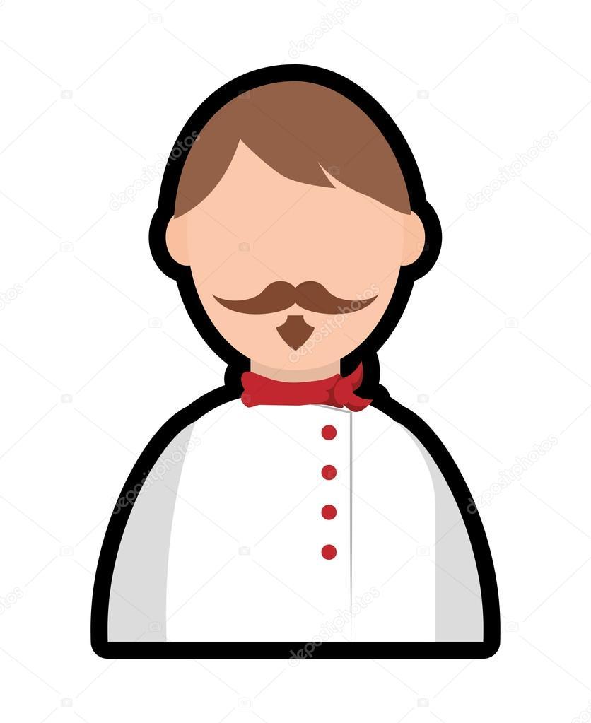Koch-Symbol. Menü und Küche Design. Vektorgrafik — Stockvektor © djv ...