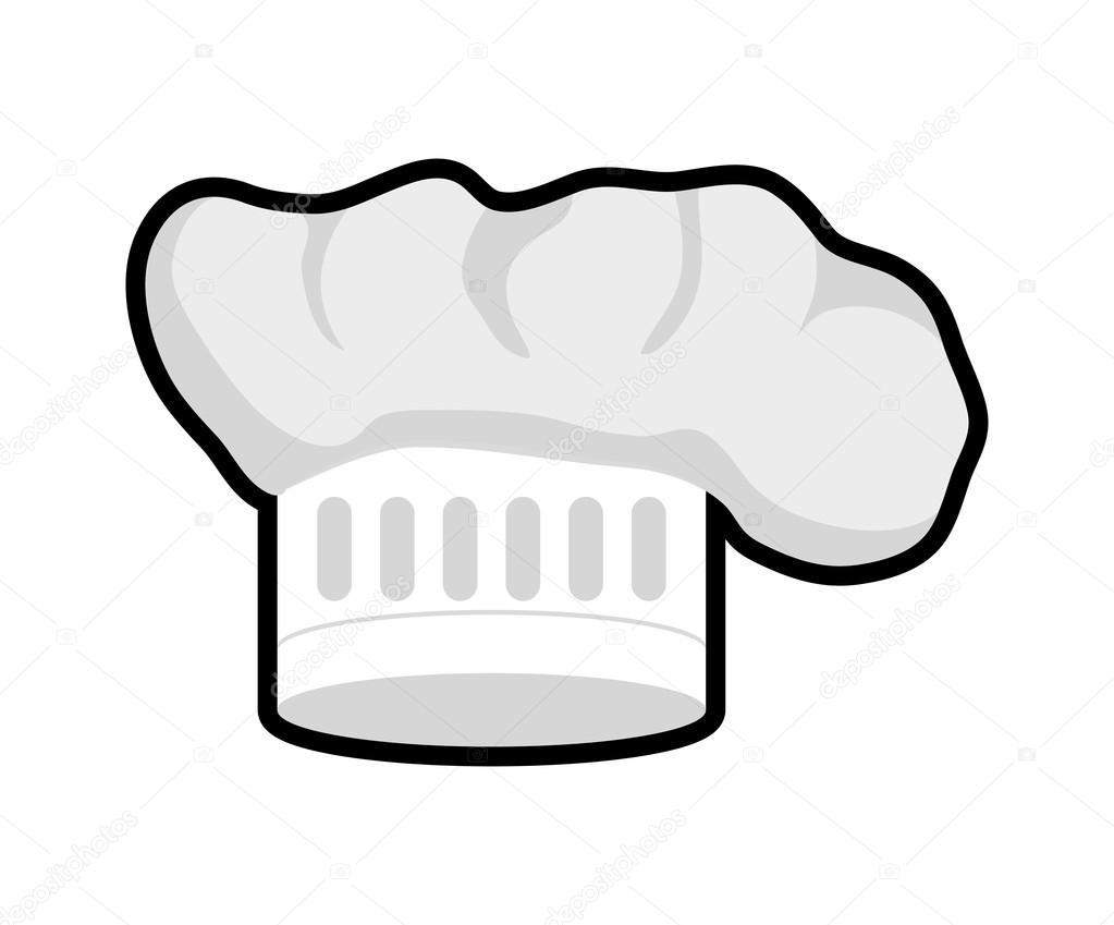 Koch-Hut-Symbol. Menü und Küche Design. Vektorgrafik — Stockvektor ...