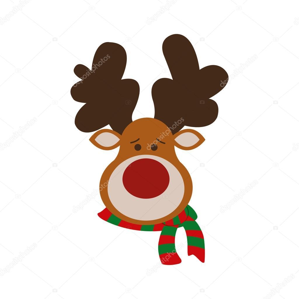 Foto Reno De Navidad Reno Feliz Navidad Dibujos Animados El Icono - Ciervo-navidad