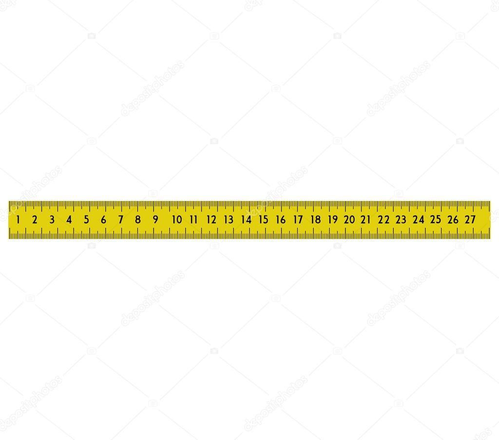 Icono amarillo cinta para medir de metro gr fico - Metro para medir ...