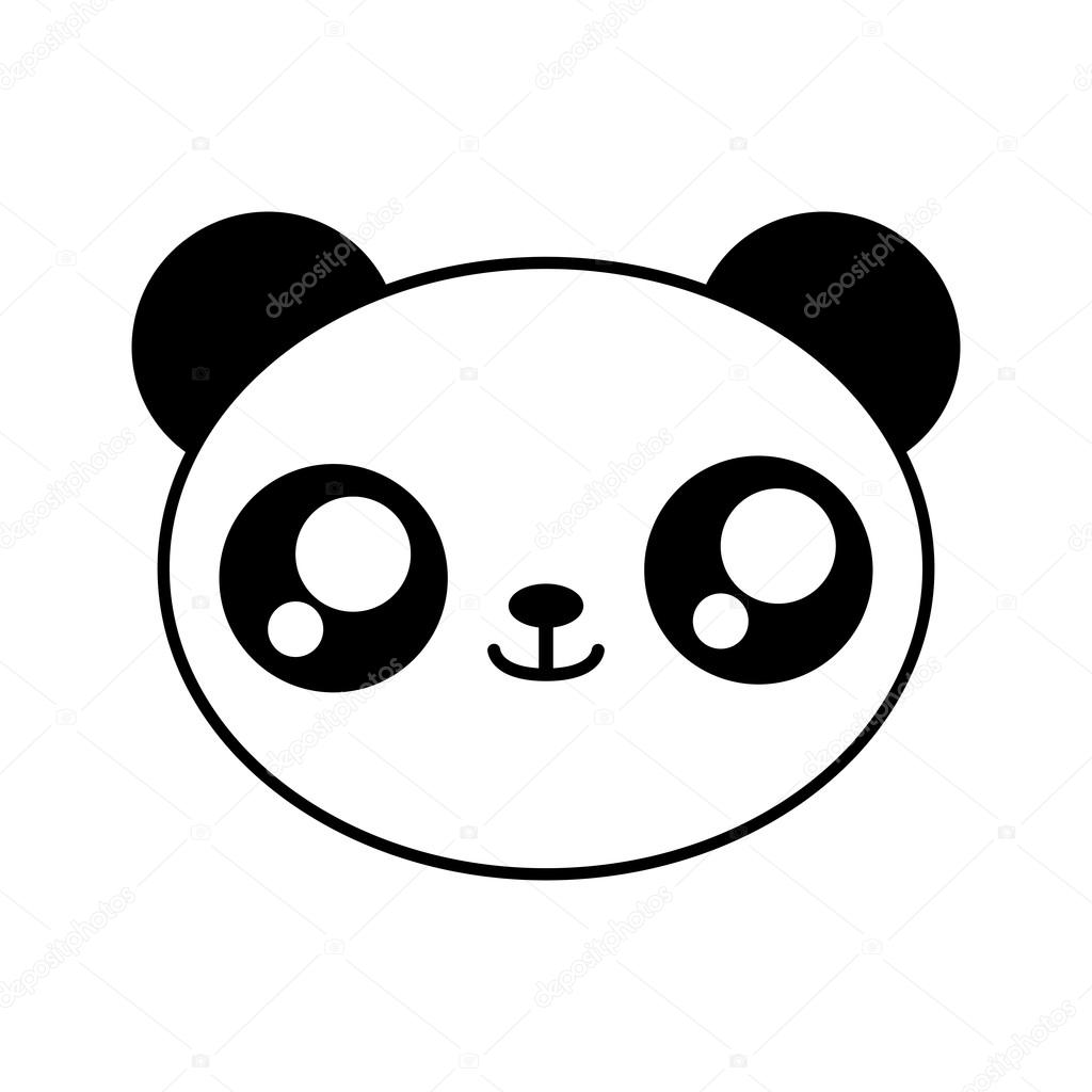 Imágenes Panda Kawaii Oso Panda Kawaii Cute Animal Icono Vector