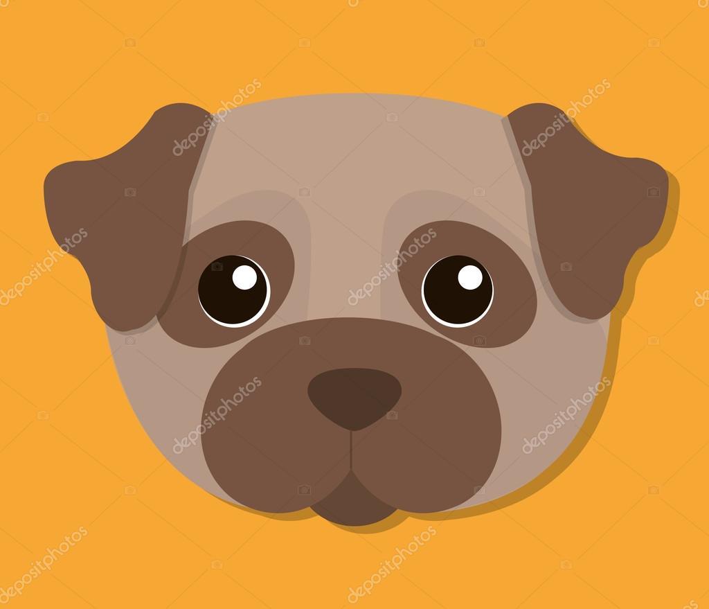Disegno animale domestico cane dei cartoni animati u vettoriali