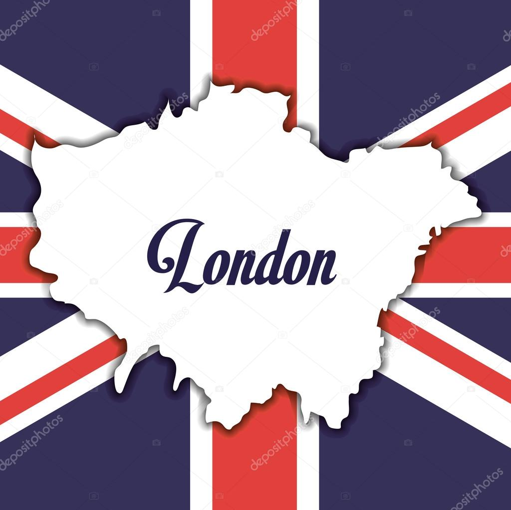 flag london england design — Stock Vector © djv #122823774