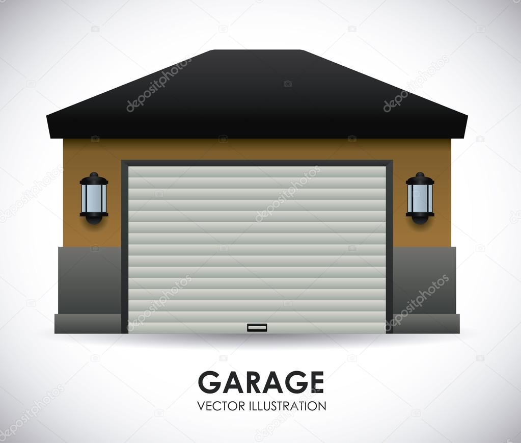 Garage design stock vector djv 59393665 for Garage design software free