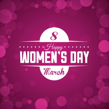 Womens day design, vector illustration eps10 graphic clip art vector