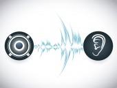 zvukový design.