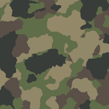 Military camouflage design, vector illustration eps 10. stock vector