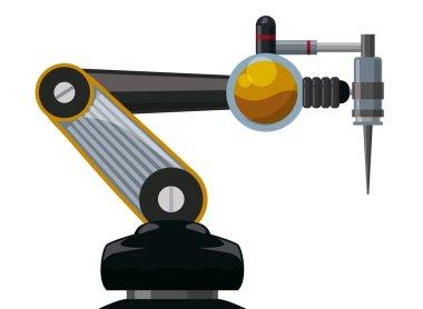 Robot digital design.