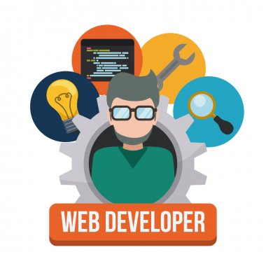 Web developer design.