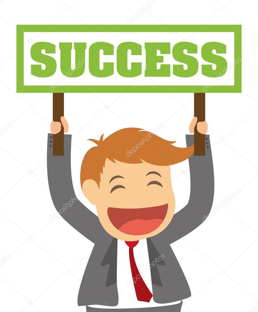 success people cartoon design stock vector c djv 88299152 https depositphotos com 88299152 stock illustration success people cartoon design html
